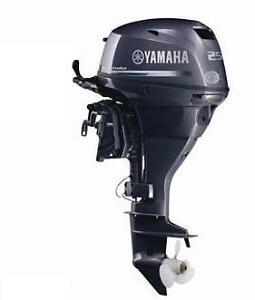 Brand New 2013 Yamaha 25 Hp F25lea 20 034 Shaft 4 Stroke Outboard Motor Ebay