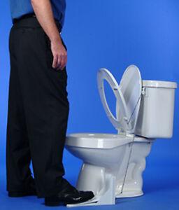 toilet seat lifter ebay. Black Bedroom Furniture Sets. Home Design Ideas