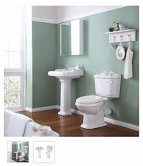 traditional toilet and basin from as low as £203.77