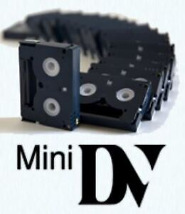 Service for converting mini DV camcorder videotapes to DVD