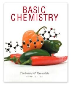 Basic Chemistry by Timberlake 3rd Edition hardcover