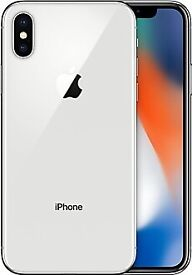 iPhone x 10 silver white 64gb brand new sealed