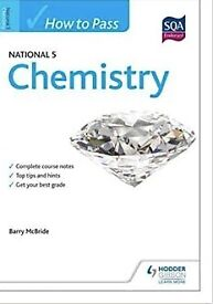 How to Pass National 5 Chemistry (HTP5) Paperback – 26 April 2013