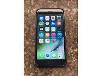 APPLE IPHONE 7,128GB,MATT BLACK,FACTORY UNLOCKED IN MINT CONDITION AS NEW