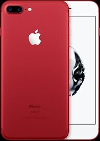 Apple iPhone 7 Plus Red 128GB Brand New Unlocked