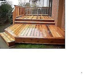 Fence Stair Siding And Deck Building Services In Ottawa