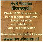 HvR Vloeren Nieuwegein, dé specialist voor uw parketvloer!