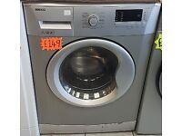 Beko 7kg 1500spin Silver Washing Machine with 4 MONTHS WARRANTY