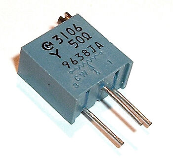 50 Ohm Trimmer Trim Pot Variable Resistor 3106y 10