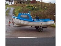 BOAT WANTED WITH OUTBOARD AND TRAILER CASH WAITING
