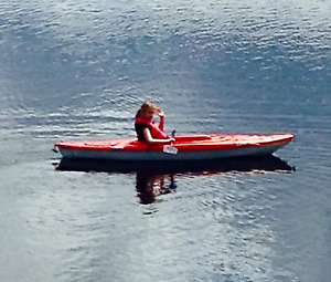 10 ft red Pelican Kayak for sale $200.00
