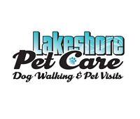 Lakeshore Pet Care - Dog Walking, Pet Sitting, Mid-day Visits