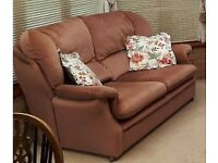 FREE - Pink 2 Seater Sofa. Pick up required within 48 hours