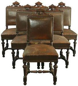 antique dining room set - Antique Dining Room Chairs