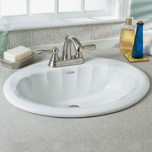American Standard Counter Top Sink Porcelain Lavabo