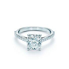 Tiffany Engagement Ring Grace 0.43 carat