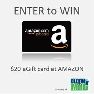 Contest for 20 dollar Amazon Gift Card