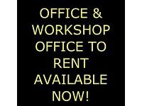 ABERDEEN OFFICE AND OFFICE WITH WORKSHOP TO RENT
