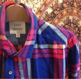 never worn flannel shirt