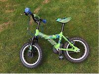 raleigh boys bike atom 14