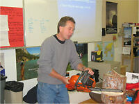 Chainsaw Safety Certification Course - January 29 - Winnipeg