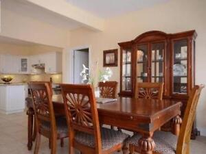 Dining Set With 8 Chairs Hutch