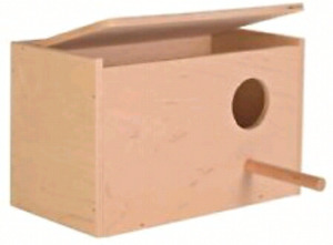 ISO BUDGIE/PARAKEET BREEDING BOX