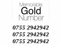 Memorable Mobile Number Easy Gold £75 ONO