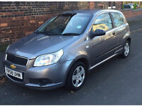 CHEVROLET 3 DOOR CAR VERY LOW MILEAGE £1295 ONO