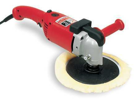 MILWAUKEE 5455 Right Angle Polisher,7/9 In,RPM 1750