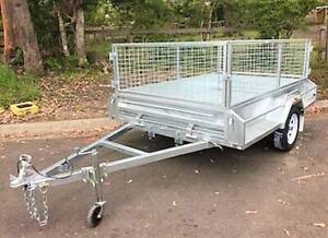 NEW 7 x 4 Galvanised Heavy Duty Tradie Box Trailer | Single Axle Erina Gosford Area Preview