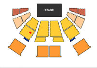 2 Vance Joy tickets in Moncton: section F3, row LL, seats 13-14