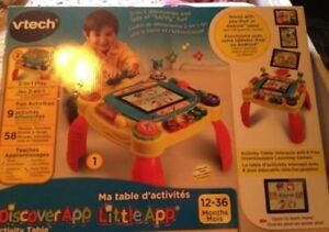Activity table new in box can use w iPad
