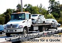 GET CASH FOR SCRAP, JUNK, DAMAGED, UNWANTED CAR REMOVAL FREE TOW