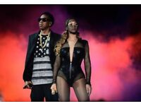 Jay Z and Beyonce- On The Run Tour 2 Tickets (concert/gig)