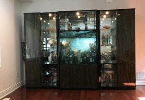 Beautiful one of a kind wall unit!