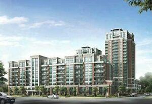Downtown Markham One Bedroom Condo with parking