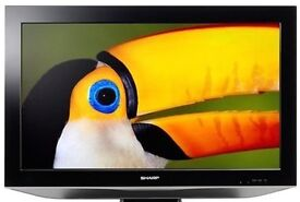 Sharp 40 Inch LCD FULL HD 1080P TV, Freeview, Remote. Good condition. NO OFFERS