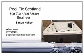 Hot Tub Engineer. Installation and repairs.