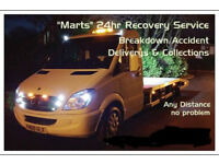 24Hr Car Recovery & Breakdown Service, Full Recovery Insurance.