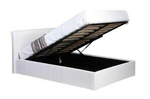 White Lift Up Bed