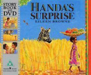 NEW - HANDA'S SURPRISE book with DVD   (Eileen Browne)  Handas  9781406307511