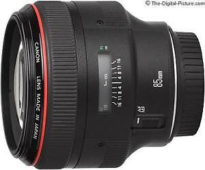 Canon 85mm 1.2mm