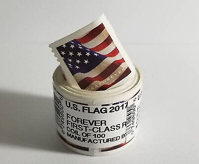 USA Flag 2017 Forever Stamps - Roll of 100