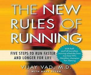 The New Rules Running Five Steps Run Faster Longer for by Vad M D Vijay CD-AUDIO