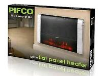 Pifco electric wall heater new in box
