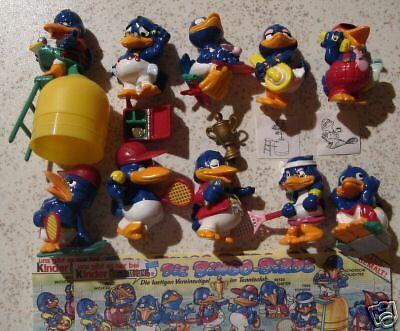 """Satz """"Die Bingo Birds""""96 m. 10 BPZ u. 2 ZBA; PORTO 1,80"""