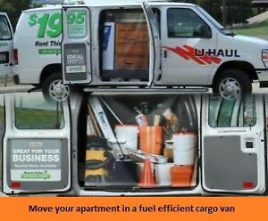 Never Been A Better time to Rent a Cargo Van Rental From Uhaul