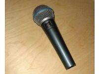Shure SM58A Beta Microphone