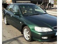 Honda Accord 2.3 Type V / Leather / Satnav / Cruise / AirCon / Spares or Repair